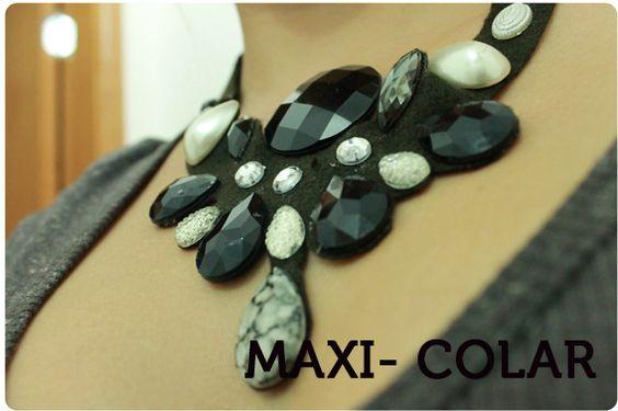 Detalhes de Diva: Como fazer Maxi-colar?