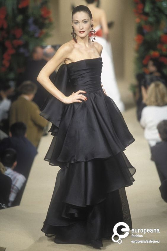 Yves Saint Laurent, Spring-Summer 1997, Couture on www.europeanafashion.eu