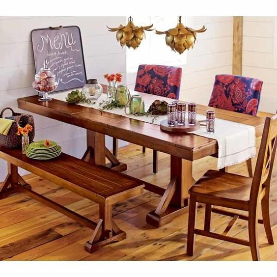 Cost Plus Industrial Coffee Table: Verona Extension Dining Table With Bench