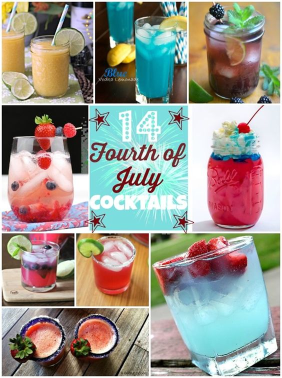 cocktails for fourth of july