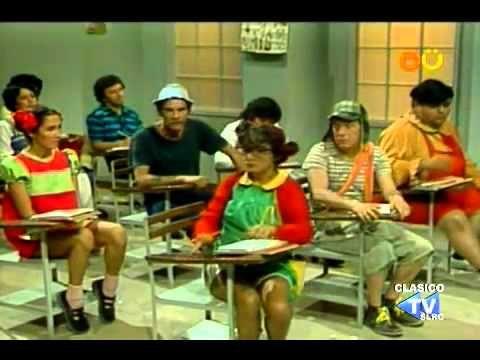 could watch for practice  CHESPIRITO 1981 - el chavo del ocho - Don Ramon en la escuela - (completo)