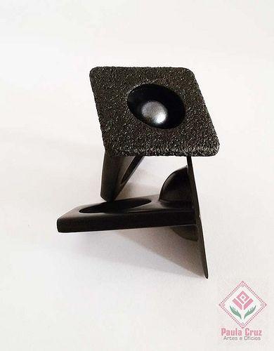 Polymer Clay - Geometric ring-2 | por Paula Cruz - Polymer Clay Artist