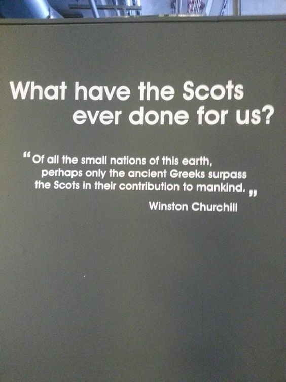 The Scots gave us beautiful tartan and yummy shortbread...poetry, bagpipe music...kilts & cozy wool sweaters...just to name a couple of wonderful things that I love....