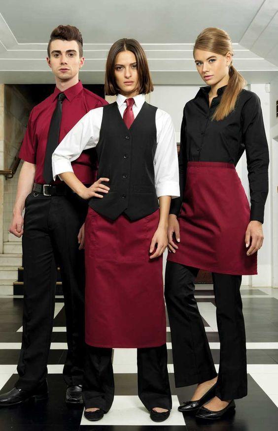 Premier Ladies Workwear Catering Bar Restaurant Waistcoat