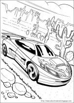 Free Hot Wheels coloring printable pages for your kids to fill color and let them enjoy the fun of learning while playing with colors