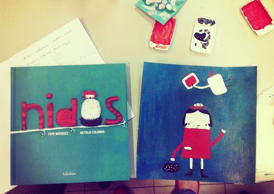 """Ilustração baseada em """"Nidos"""""""