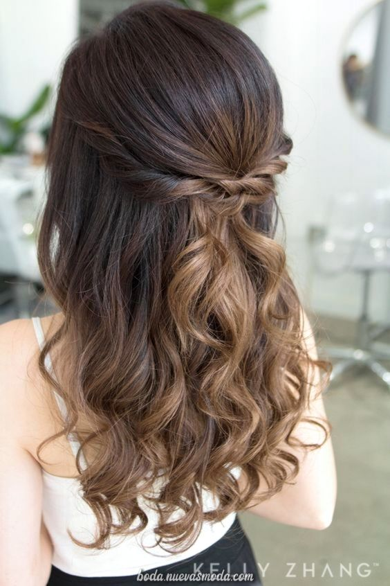 Espectacular Ligera De Bricolaje Peinados Para Fiesta De Jerarquia De Pelo Dadivoso Hair Styles Medium Hair Styles Prom Hair Medium