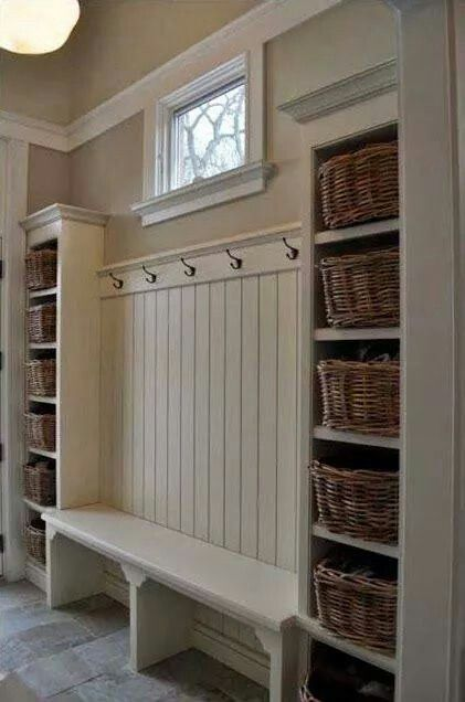Sweet mudroom