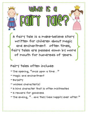 Need ideas for a fairytale essay for school!?