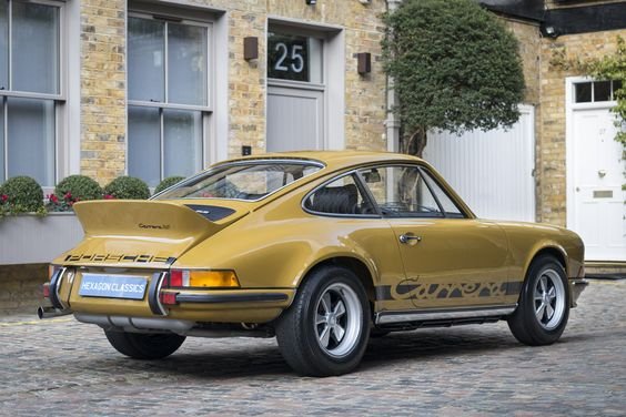 1973 Porsche 911 Carrera 2.7 RS Touring (M472) 1 of 4 in Olive (414)
