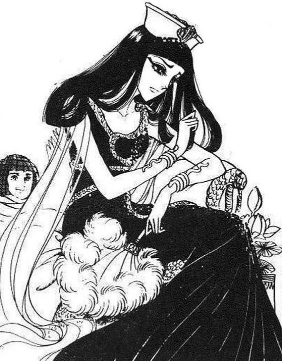 Nile's daughter comic book Isis