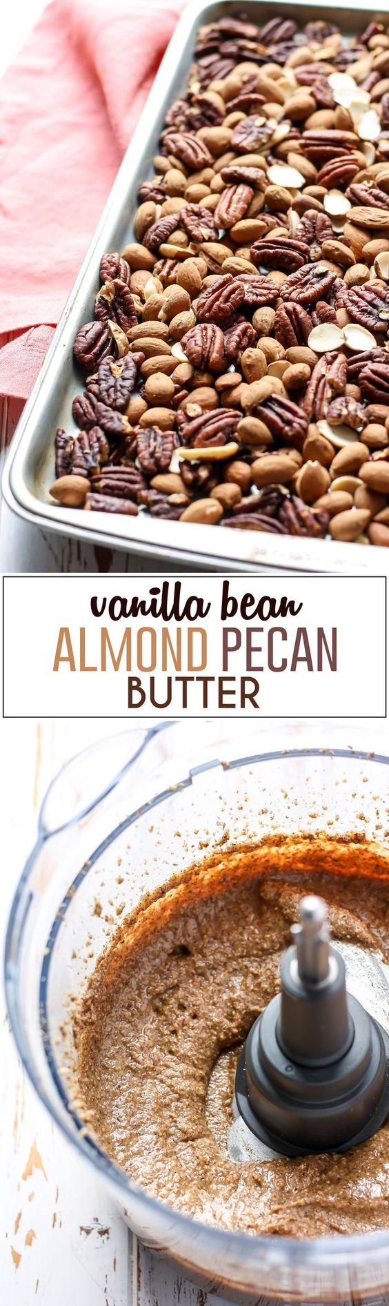 Vanilla Bean Almond Pecan Butter