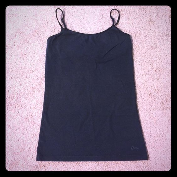 Aeropostale Tank Top Black Aeropostale tank top. Built in liner around breast. Great condition! No rips, stains, or tears. Comment if you have questions! Aeropostale Tops Tank Tops
