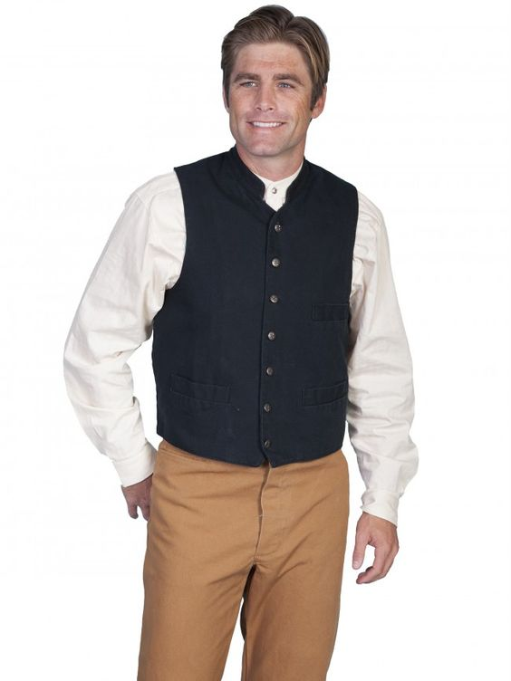 New! Scully RangeWear Stand Up Collar Vest- $44.95 http://ss1.us/a/dZTXDXug