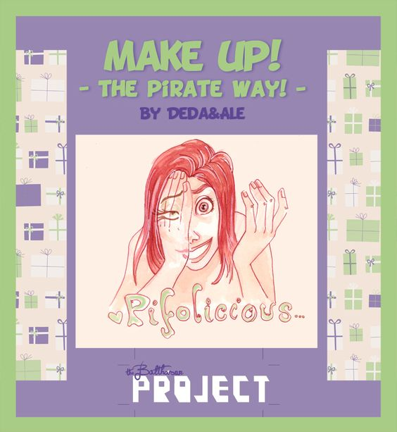 The Pirate Balthasar - BLOG: Make up! - Cover