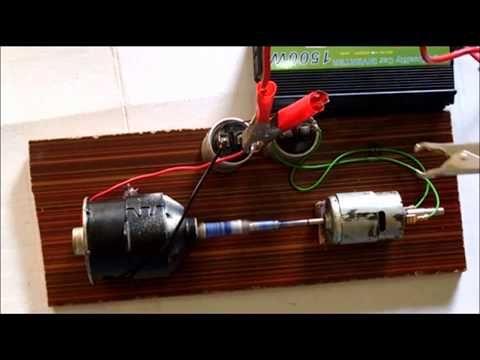 Free Energy Generator Mini 12 V Output 220 Volts 1500 Watts Use 100 Sef Youtube Free Energy Generator Free Energy Energy