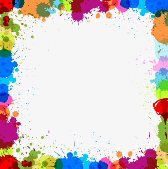 Watercolor Background Colorful Border Frame Watercolor Background Border Watercolor Border Png And Vector With Transparent Background For Free Download Colorful Borders Colorful Borders Template Watercolor Background