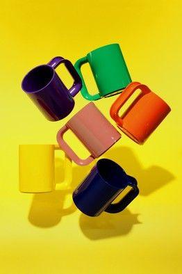Comeback: The Return of Vignelli's Technicolor Mugs