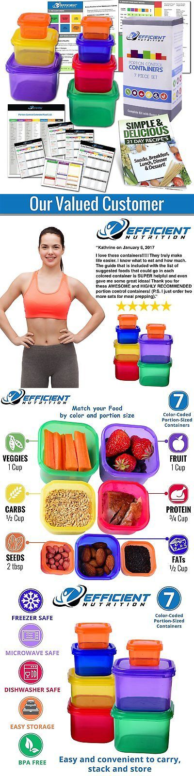 Fitness DVDs 109130: 21 Day Fix Portion Control Containers Beachbody Meal Plan Diet Weight Loss Guide -> BUY IT NOW ONLY: $11 on eBay!