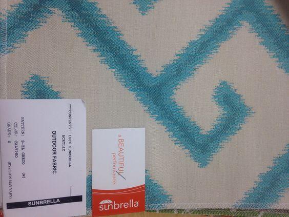Sunbrella fabric option (for cushion covers)