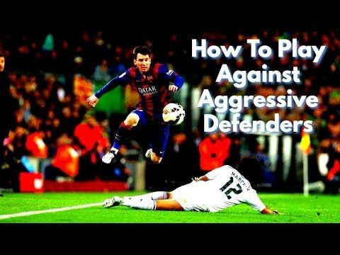 This Video Gives Some Soccer Tips On How To Play Against Aggressive And Physical Defenders Many Players Lack The Confiden Soccer Motivation Soccer Tips Soccer