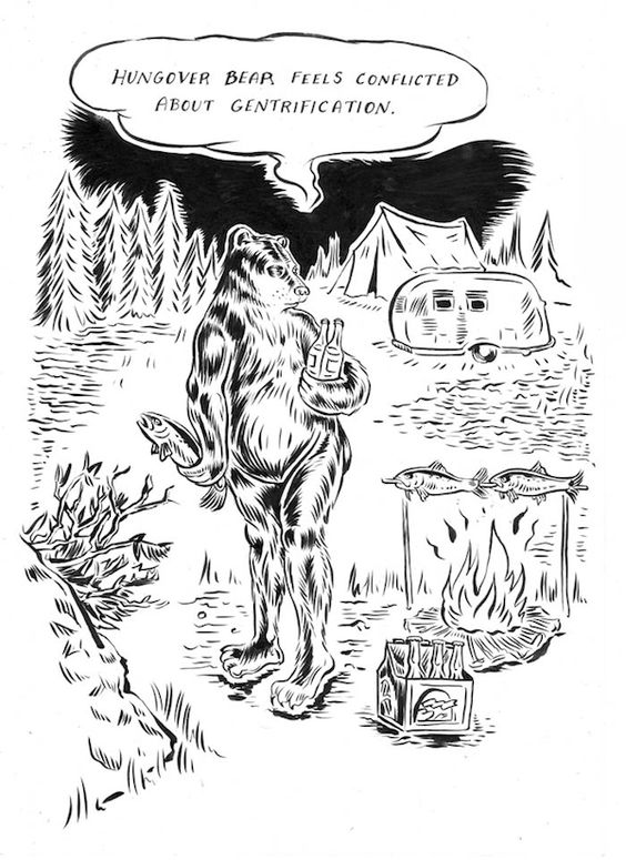 McSweeney's Internet Tendency: Hungover Bear and Friends: Decisions Aren't Forever.