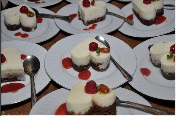 Mousse de yogurth y brownie con frutos rojos!