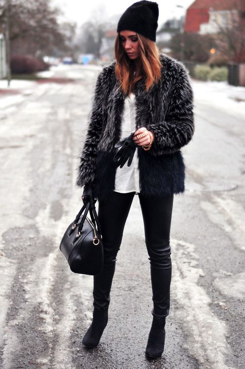 Nice Winter Street Style Via S Treet Fash Best Fashion