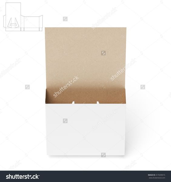 Counter Display Stand With Die Cut Templates For Brochures Stock Photo 317639015 : Shutterstock
