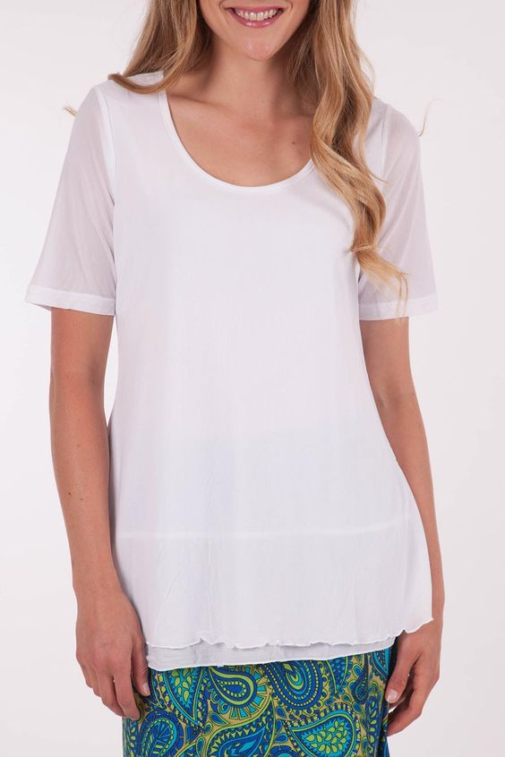 Clarity By Threadz - Seeing Double Layered Top