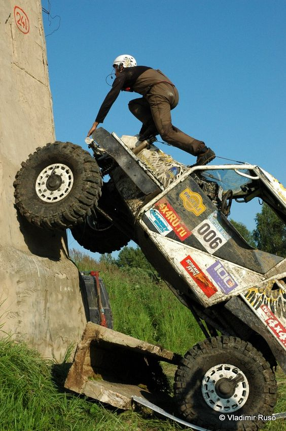 Off road race Russia