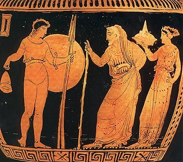 Top Score to best answer! Help writing an in-class essay on Oedipus Rex and Lysistrata!?