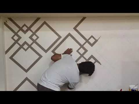 Wall Paint Youtube Home Wall Painting Wall Painting Decor Bedroom Wall Paint