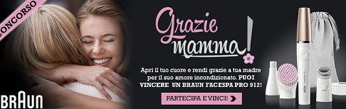 Concorso Desideri Magazine vinci Braun Face