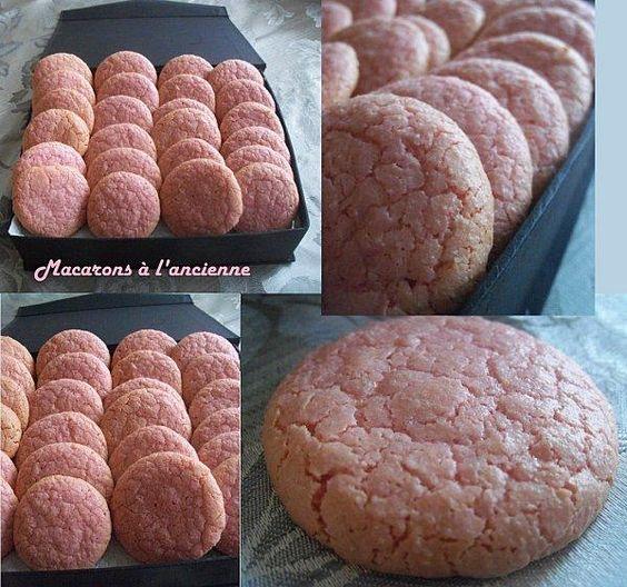 Macarons A L Ancienne Paperblog Recette Macaron Macaron Recette Mignardise