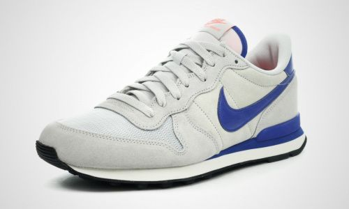 Nike Internationalist grau/blau leather