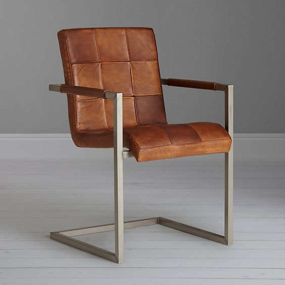 buy john lewis classico leather officedining chair brown online at johnlewiscom brown leather office chair