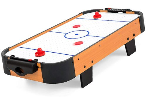 Living Game Room 40inch Air Hockey Table From Best Choice Products Air Hockey Air Hockey Tables Air Hockey Table