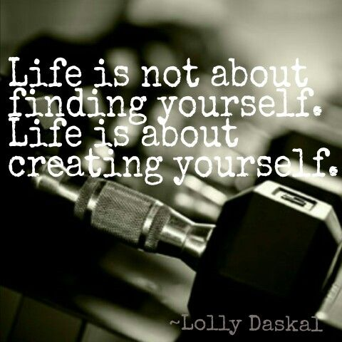 How are you creating the self you want to be? #ambtf #fitnesslife  #fitspo #create