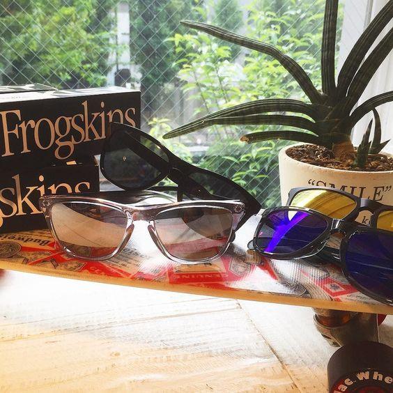 OAKLEY Frogskins 再入荷!! #standardcalifornia #スタンダードカリフォルニア #oakley #frogskins #sunglasses