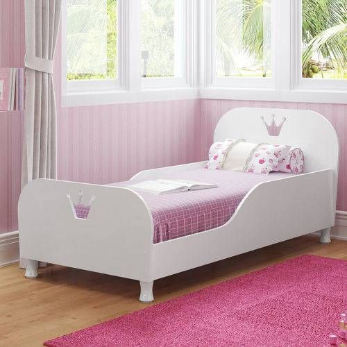 Mini Cama Infantil Com Protecao Lateral Complementar Multimoveis
