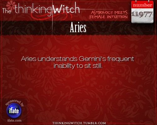 Thinking Witch - Aries: . http://ifate.com