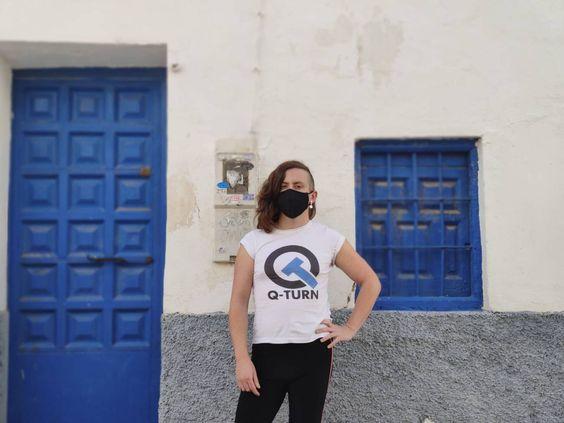 Juani Bermejo es investigadora Marie Sklodowska-Curie Athenea3i en el departamento de electromagnetismo y física de la materia de la Facultad de Ciencias de la Universidad de Granada. / @Enelke