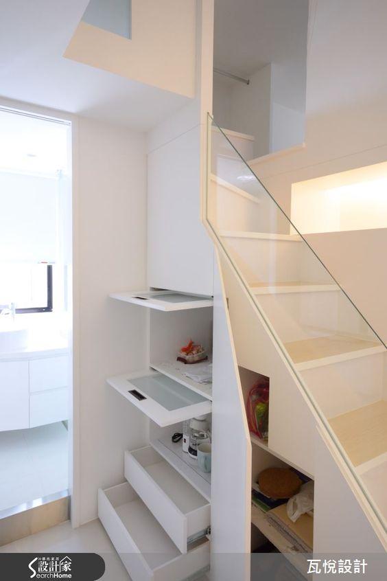 好正!嬌小白皙的 17 坪現代風夾層屋-設計家 Searchome