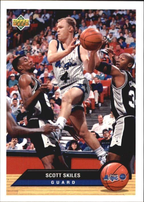 SCOTT SKILES. ORLANDO MAGIC. 1987-1996. PG. 6.1/180.