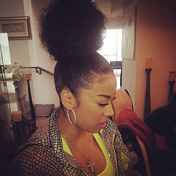Updo Buns And Keyshia Cole On Pinterest