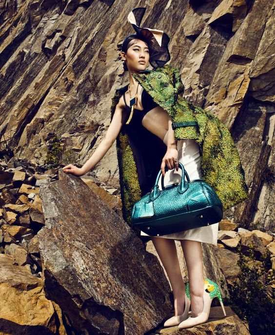 One Million Photo: Sun Ting by Man Tsang for Marie Claire Hong Kong A...