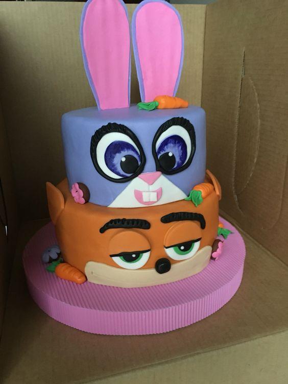 Pastel Zootopia | Cumpleaños Isabella | Postrería: