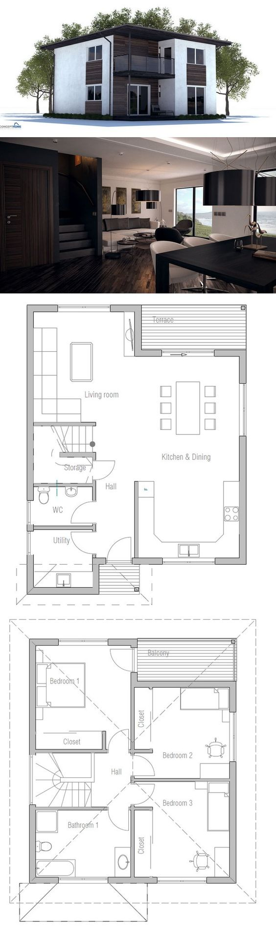 House Plan Affordable Building Budget Floor Plan From