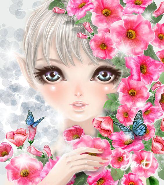 Flower Elf By Yuh515.